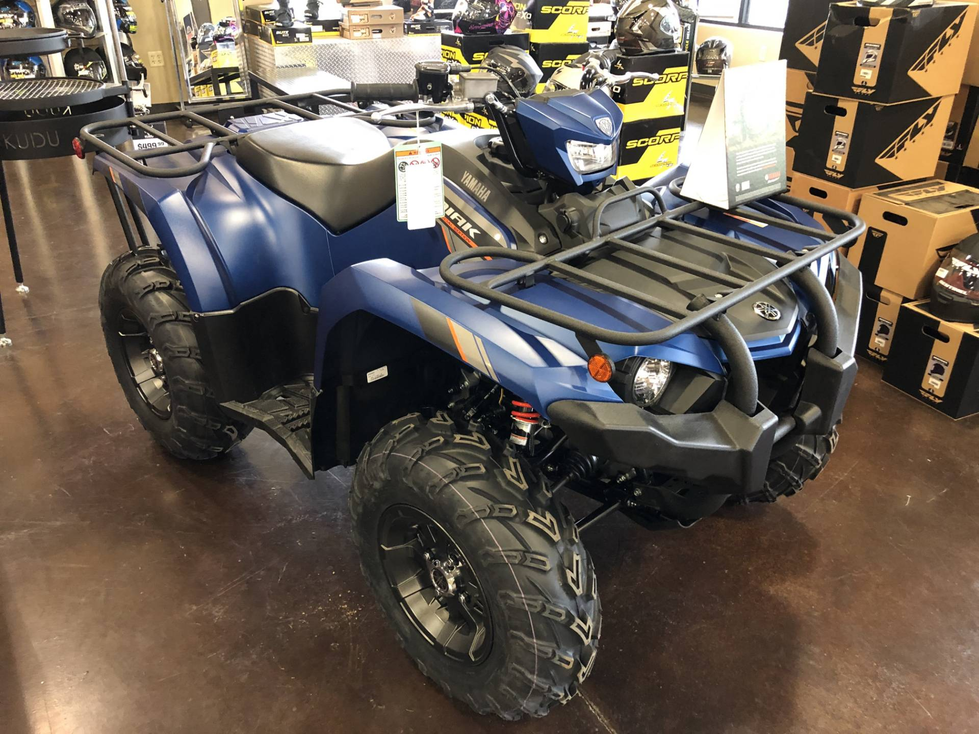 2019 Yamaha Kodiak 450 EPS SE in Springfield, Missouri - Photo 2