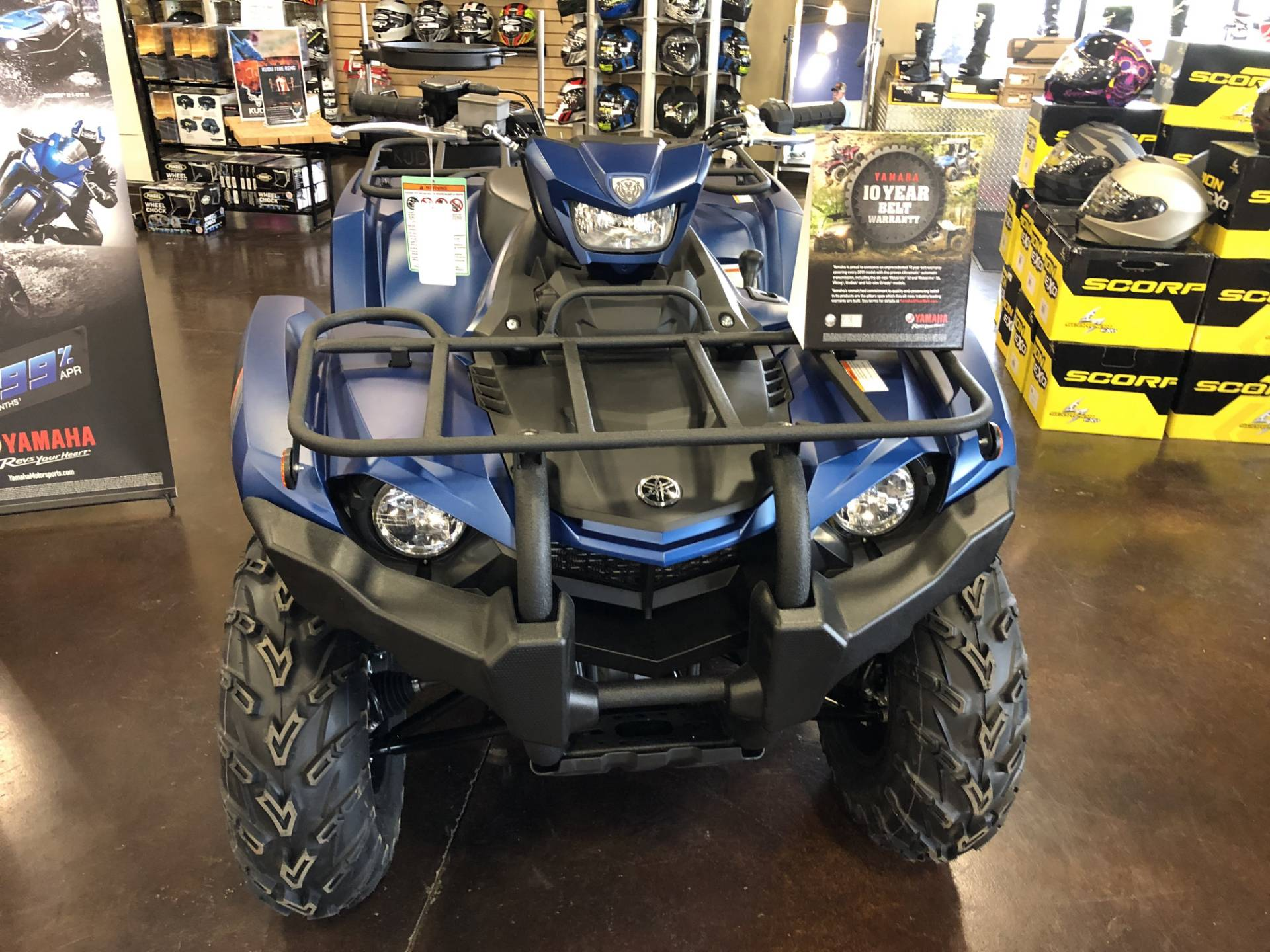 2019 Yamaha Kodiak 450 EPS SE in Springfield, Missouri - Photo 3
