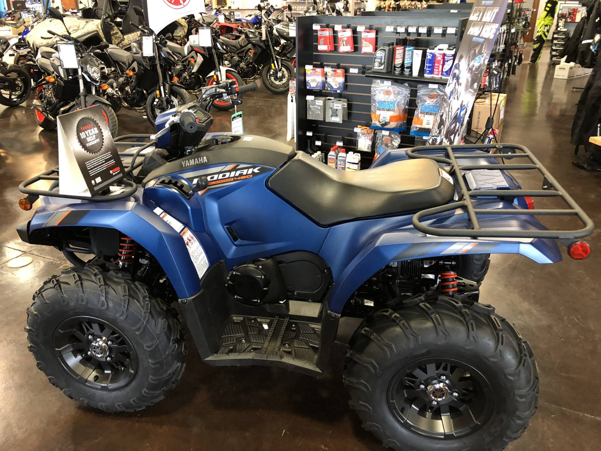 2019 Yamaha Kodiak 450 EPS SE in Springfield, Missouri - Photo 4