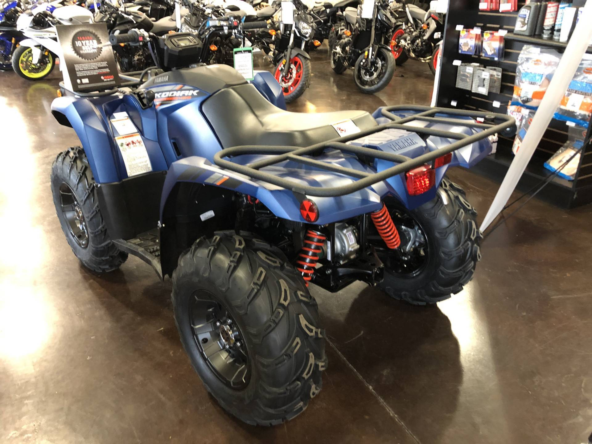 2019 Yamaha Kodiak 450 EPS SE in Springfield, Missouri - Photo 5