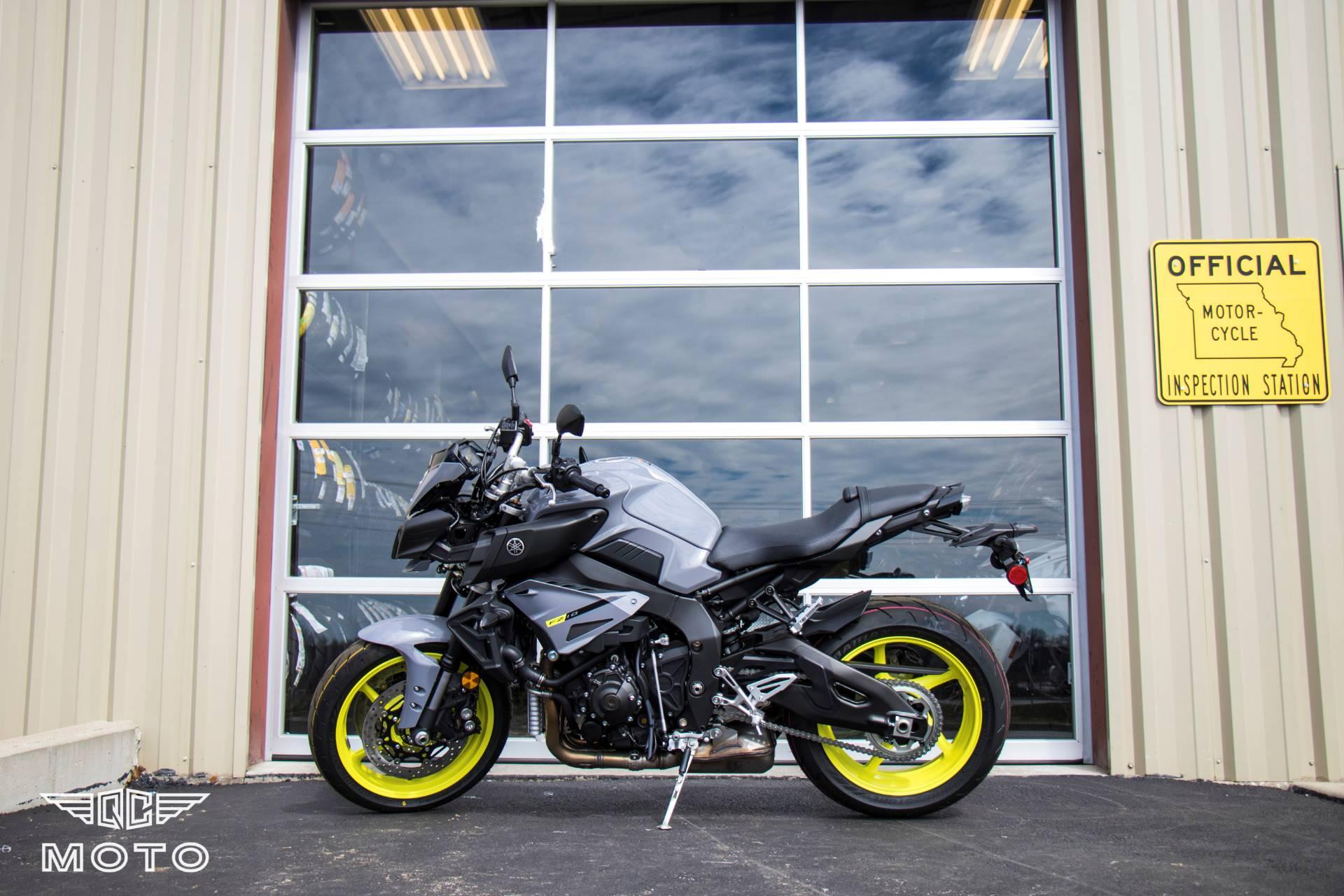 New 2017 yamaha fz 10 motorcycles in springfield mo for Yamaha credit card phone number