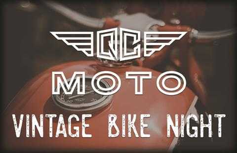 Vintage Bike Night!
