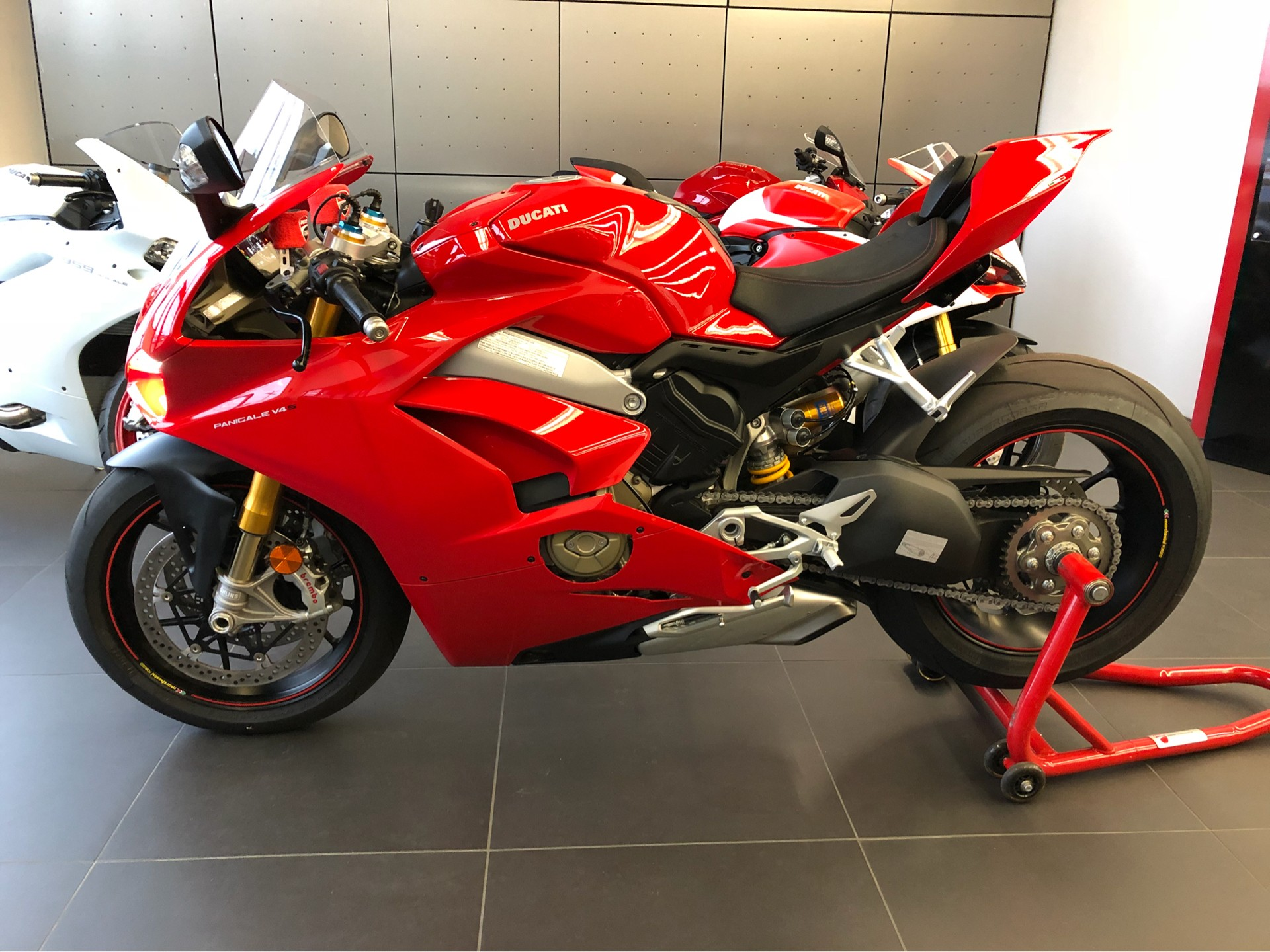 2018 Ducati Panigale V4 S in Medford, Massachusetts