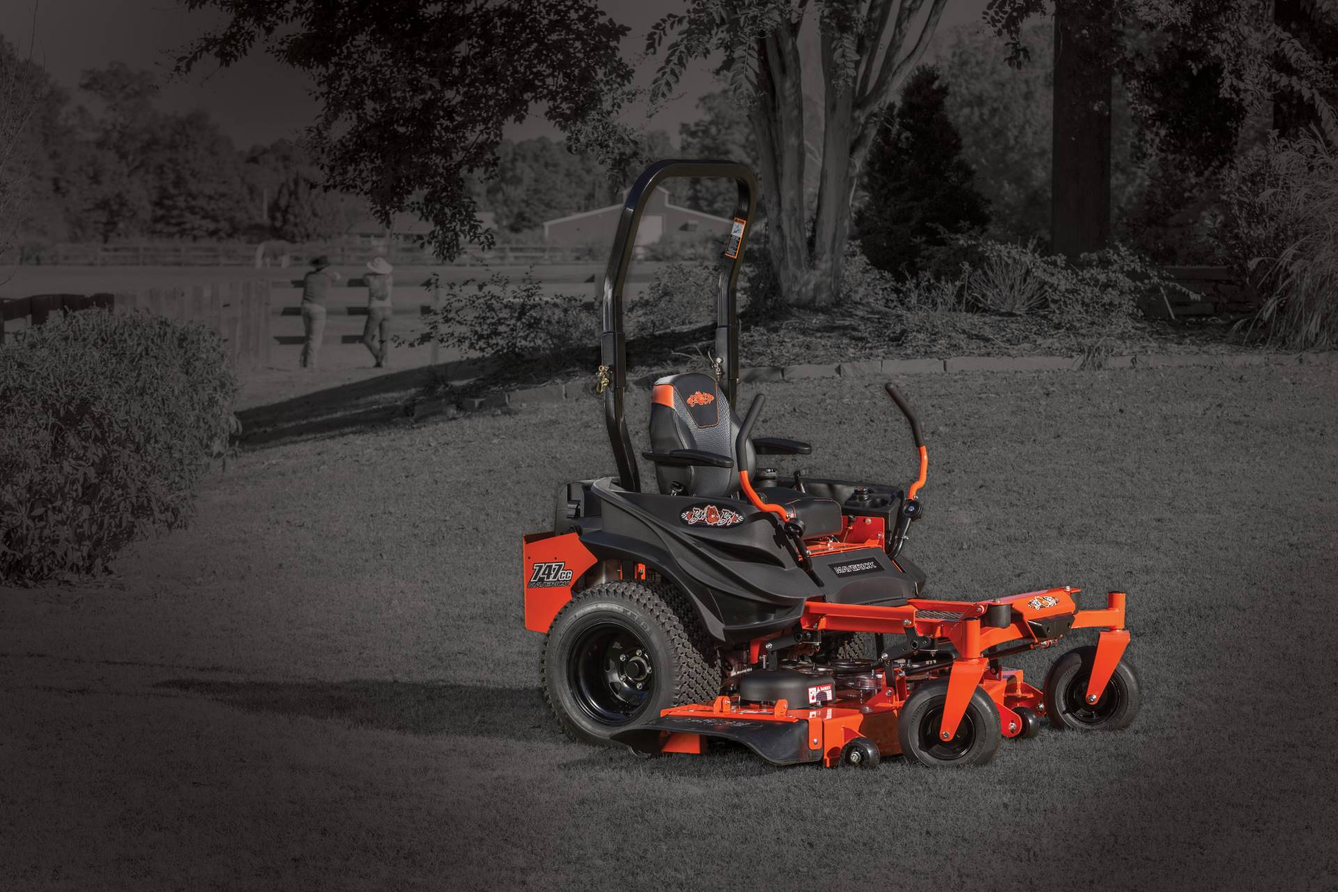 2018 Bad Boy Mowers Maverick 54 in. Kawasaki FS730 726 cc in Twin Falls, Idaho - Photo 1