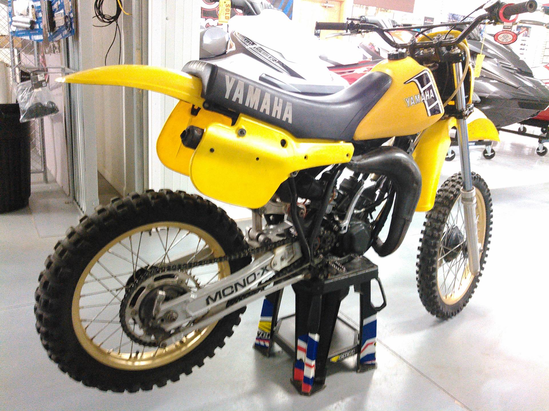 1982 Yamaha YZ125 in Johnson Creek, Wisconsin