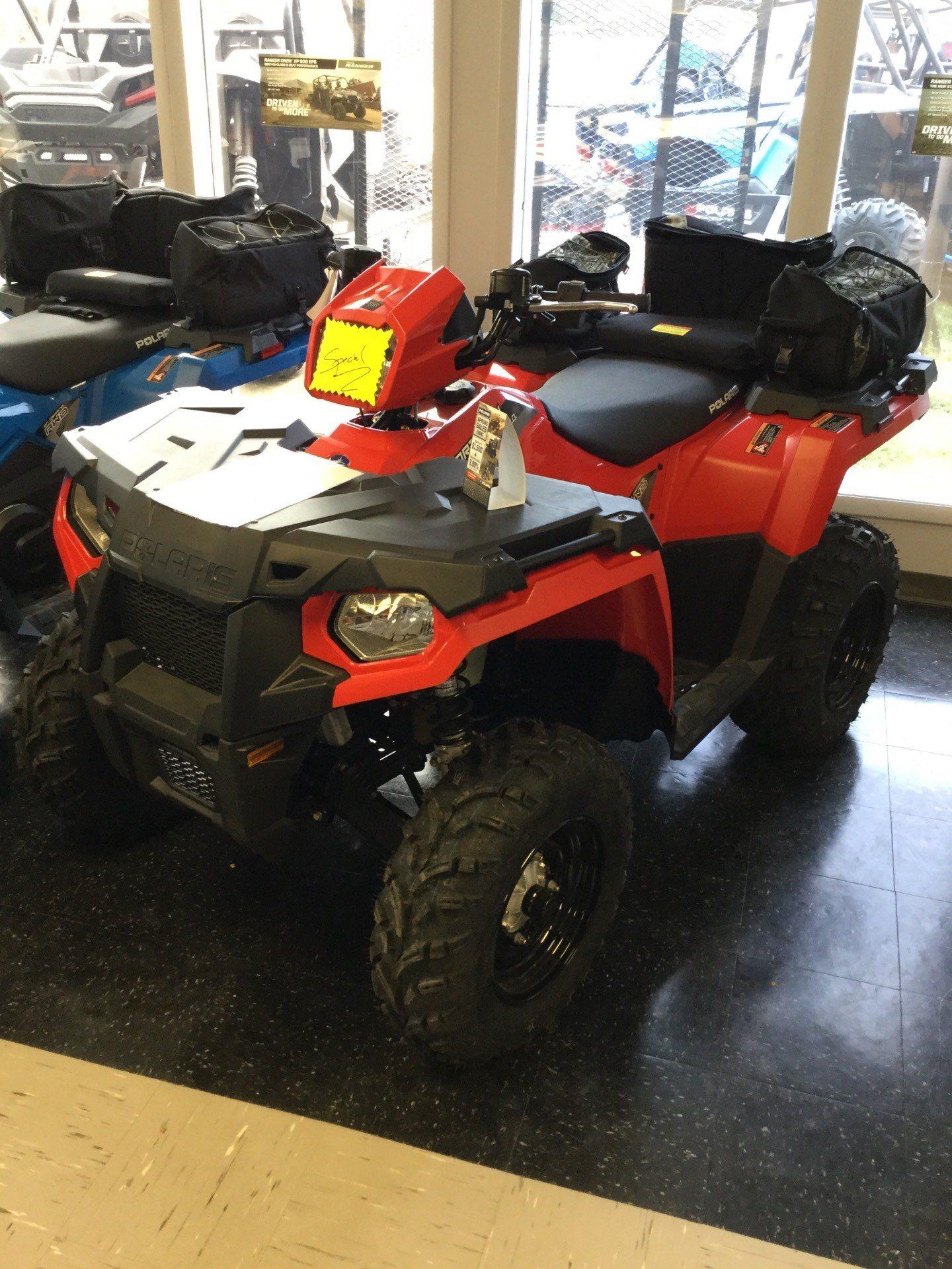 2019 Polaris Sportsman 450 H.O. EPS in Marietta, Ohio
