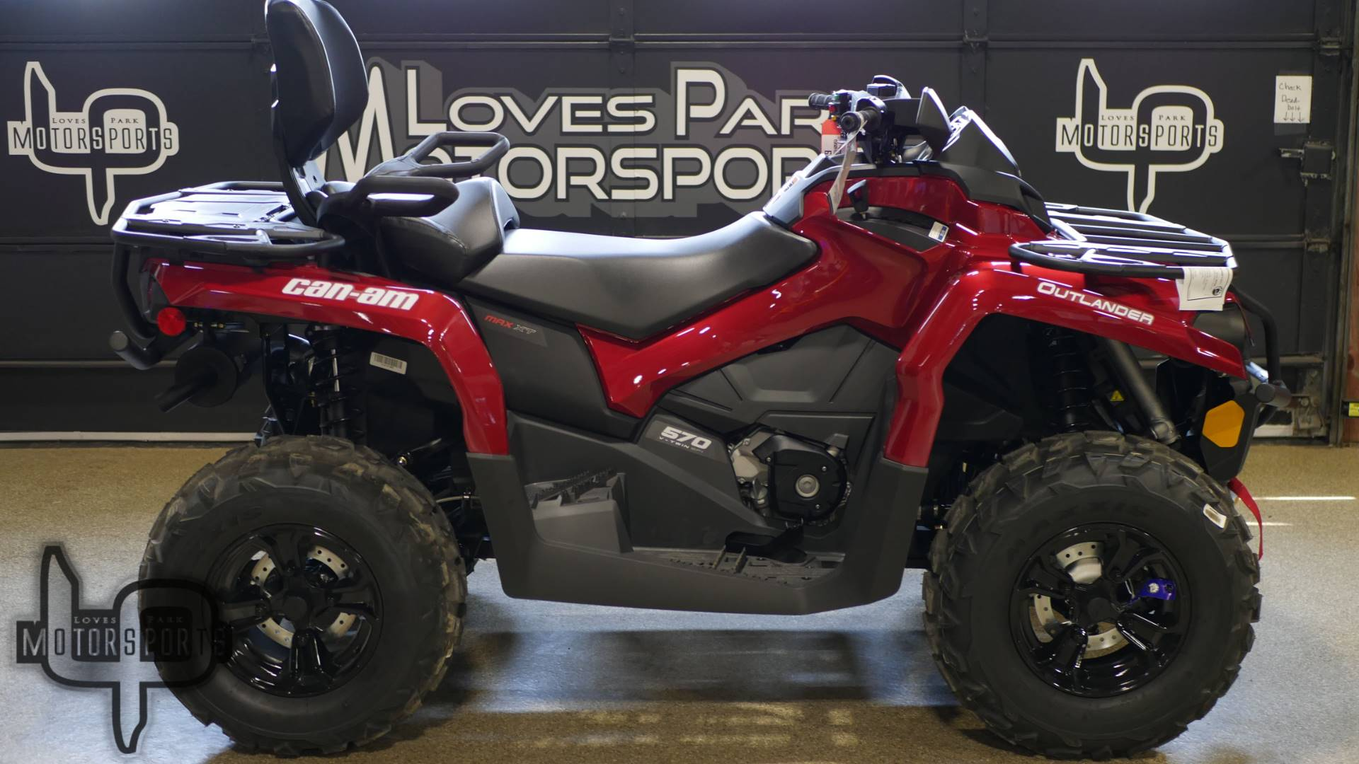 2019 Can-Am Outlander MAX XT 570 in Roscoe, Illinois - Photo 1