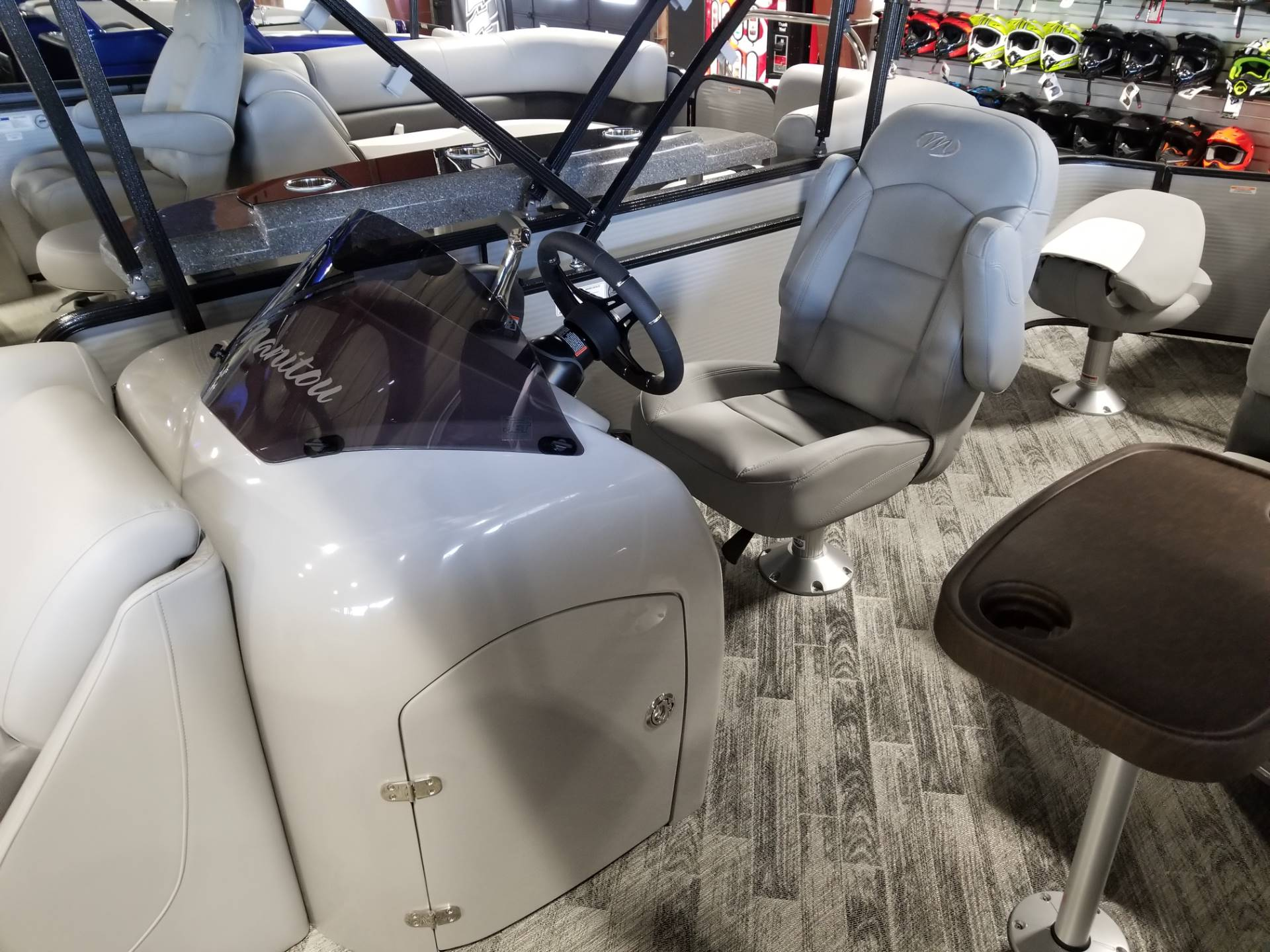 2018 Manitou 22 Oasis Angler Full Front in Roscoe, Illinois