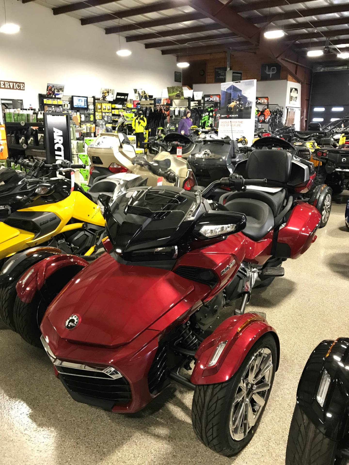 2017 Can-Am Spyder F3 Limited in Roscoe, Illinois