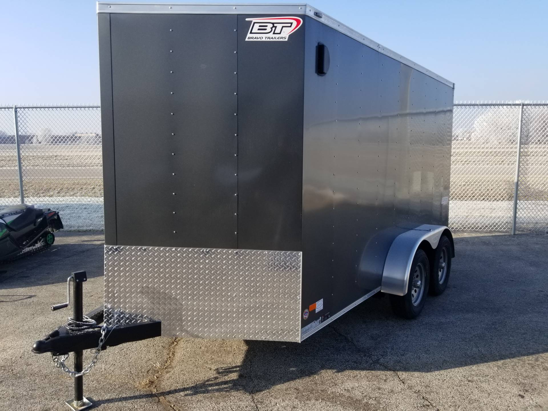 2019 Bravo Trailers SCOUT ENCLOSED 7X12FT in Roscoe, Illinois