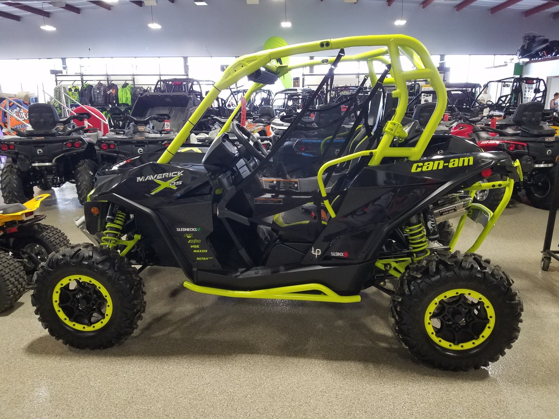 2016 Can-Am Maverick X ds Turbo in Roscoe, Illinois