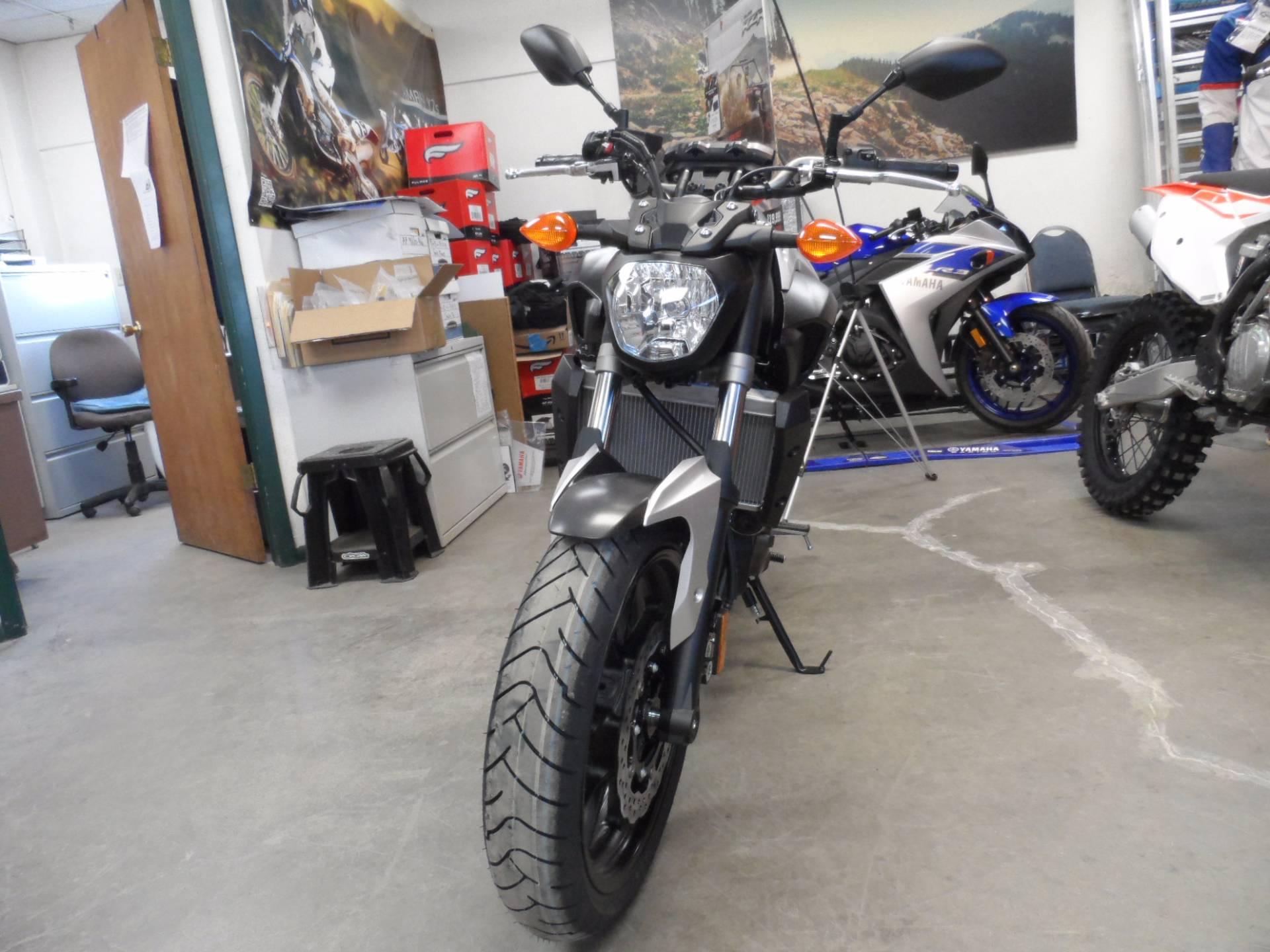 2017 Yamaha FZ-07 5