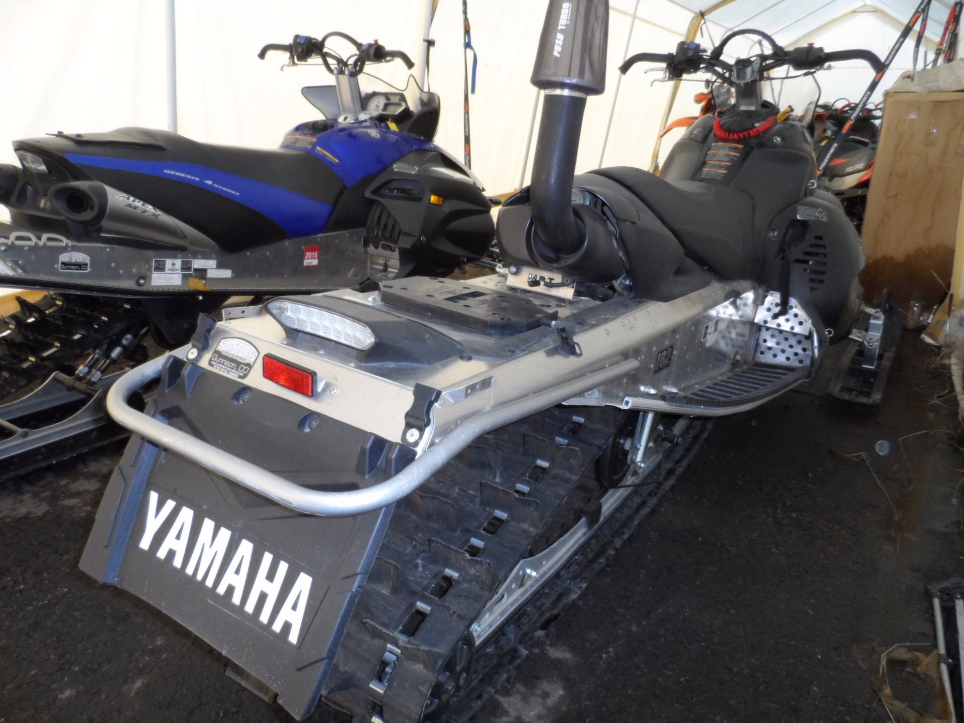 2012 Yamaha TURBO NYTRO MTX 162 in Gunnison, Colorado