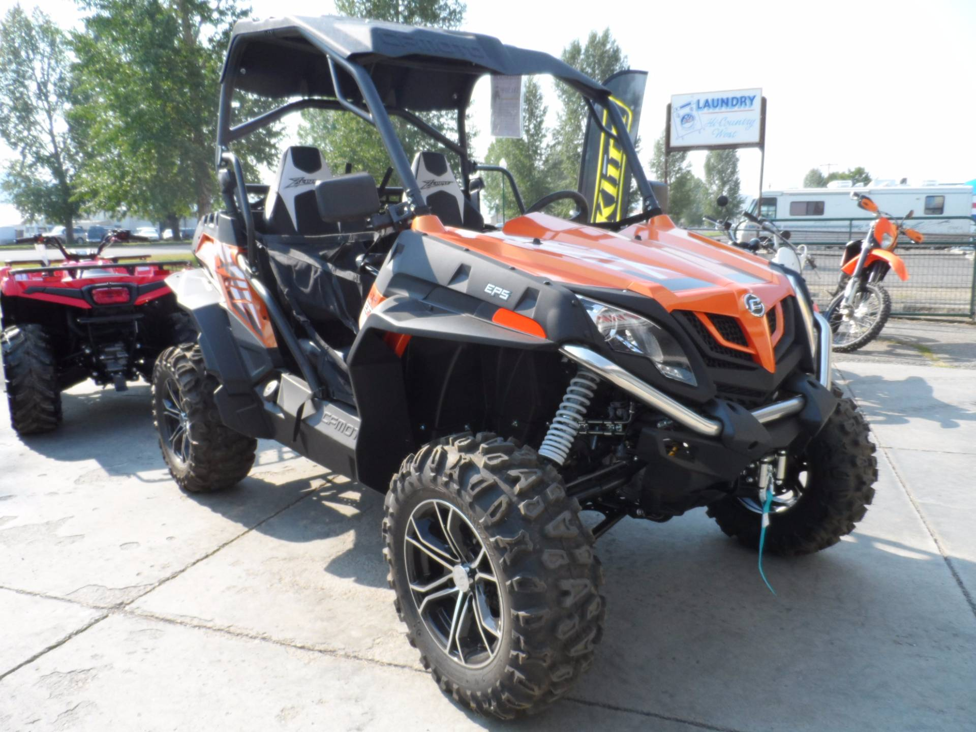 2017 CFMOTO ZForce 800 EX EPS in Gunnison, Colorado