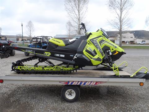 2018 Polaris 800 PRO-RMK 155 SnowCheck Select in Gunnison, Colorado