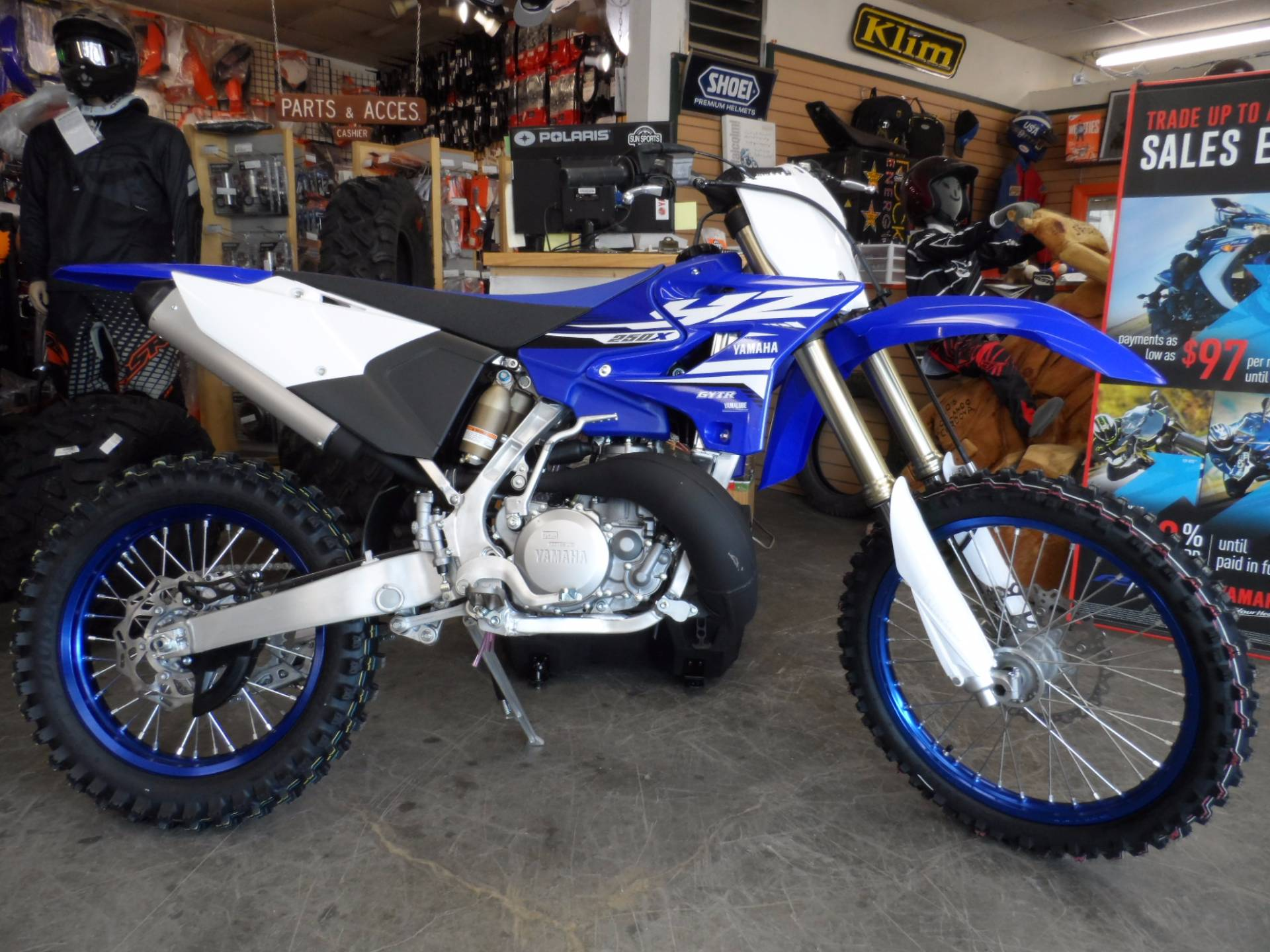2018 Yamaha YZ250X in Gunnison, Colorado