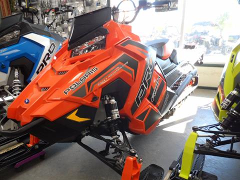 2018 Polaris 800 PRO-RMK 163 SnowCheck Select in Gunnison, Colorado