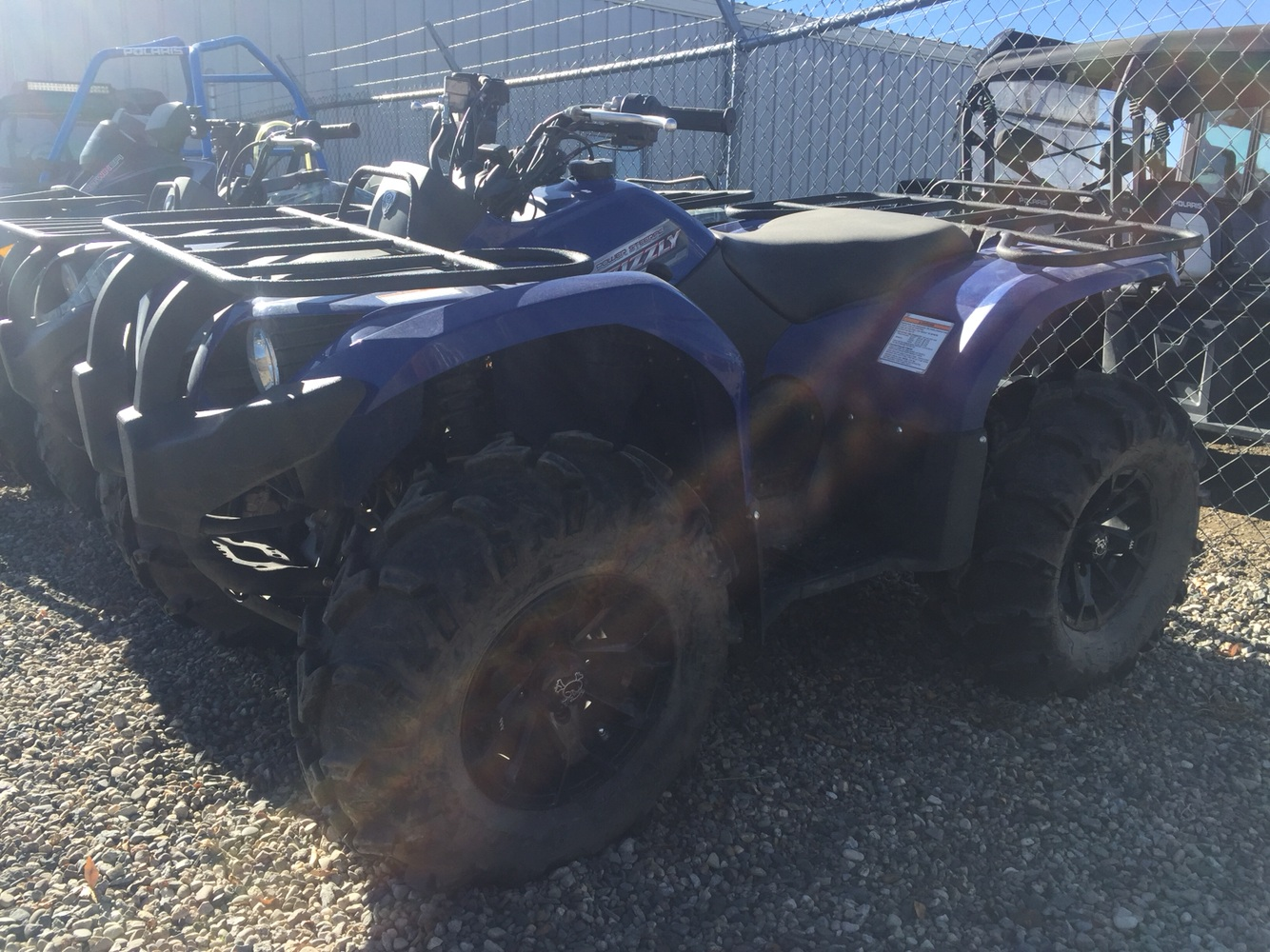 2012 Yamaha Grizzly 450 Auto. 4x4 in Gunnison, Colorado