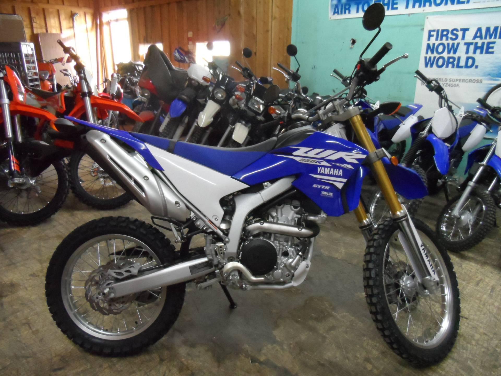 2018 yamaha wr250r motorcycles gunnison colorado for 2018 yamaha wr250r