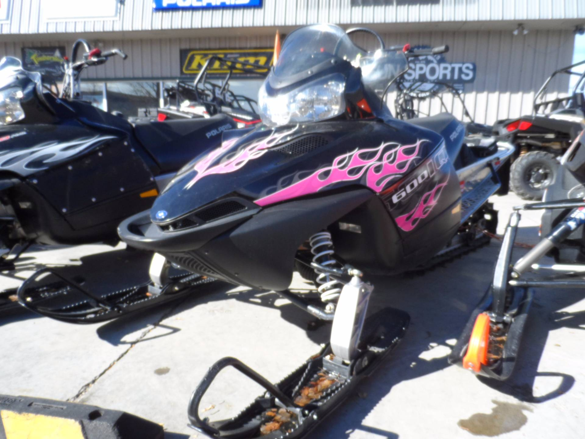 2007 Polaris 600 HO RMK 144 in Gunnison, Colorado
