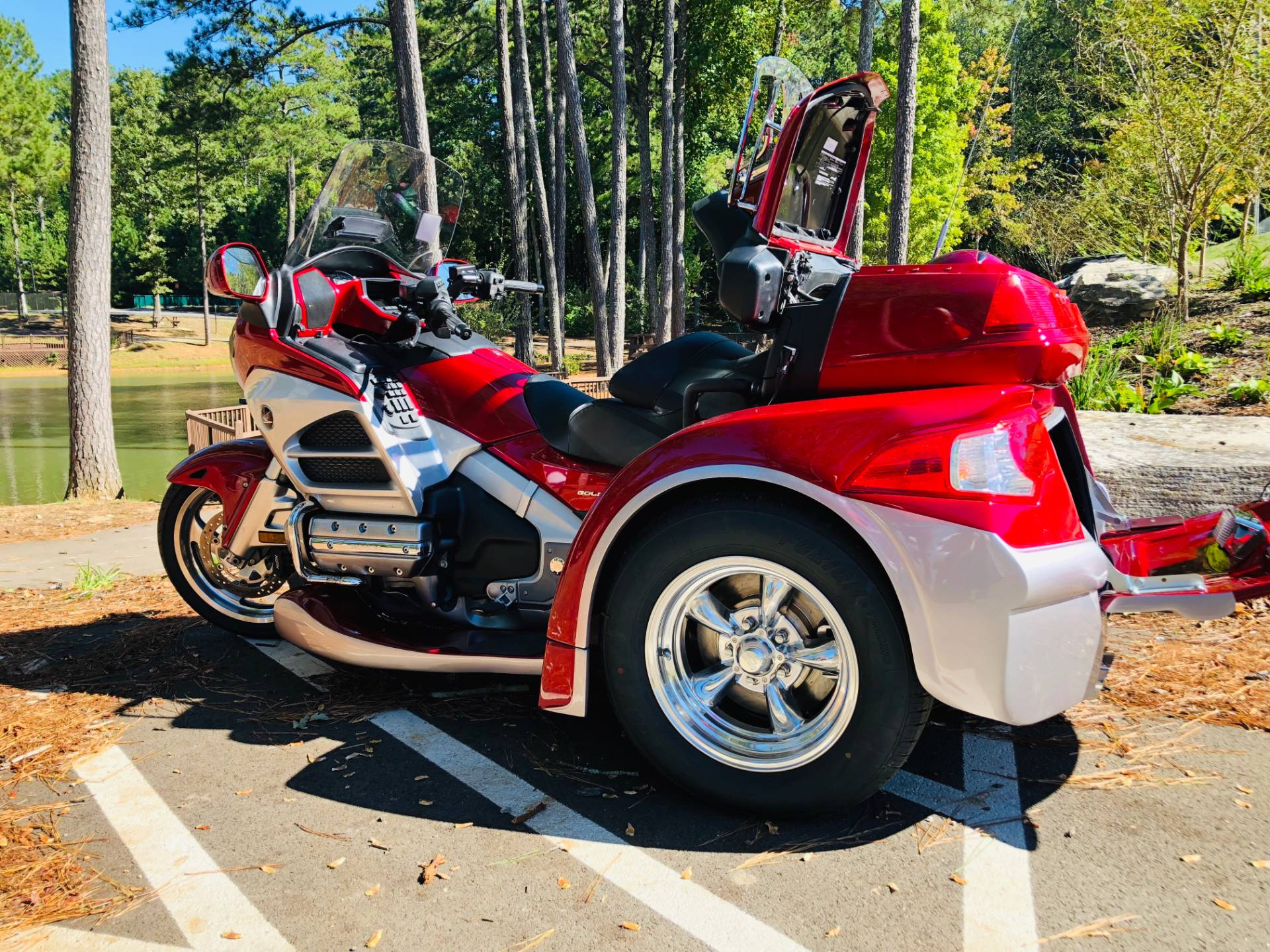 2012 Honda Gold Wing® Audio Comfort Navi XM in Jasper, Georgia - Photo 4