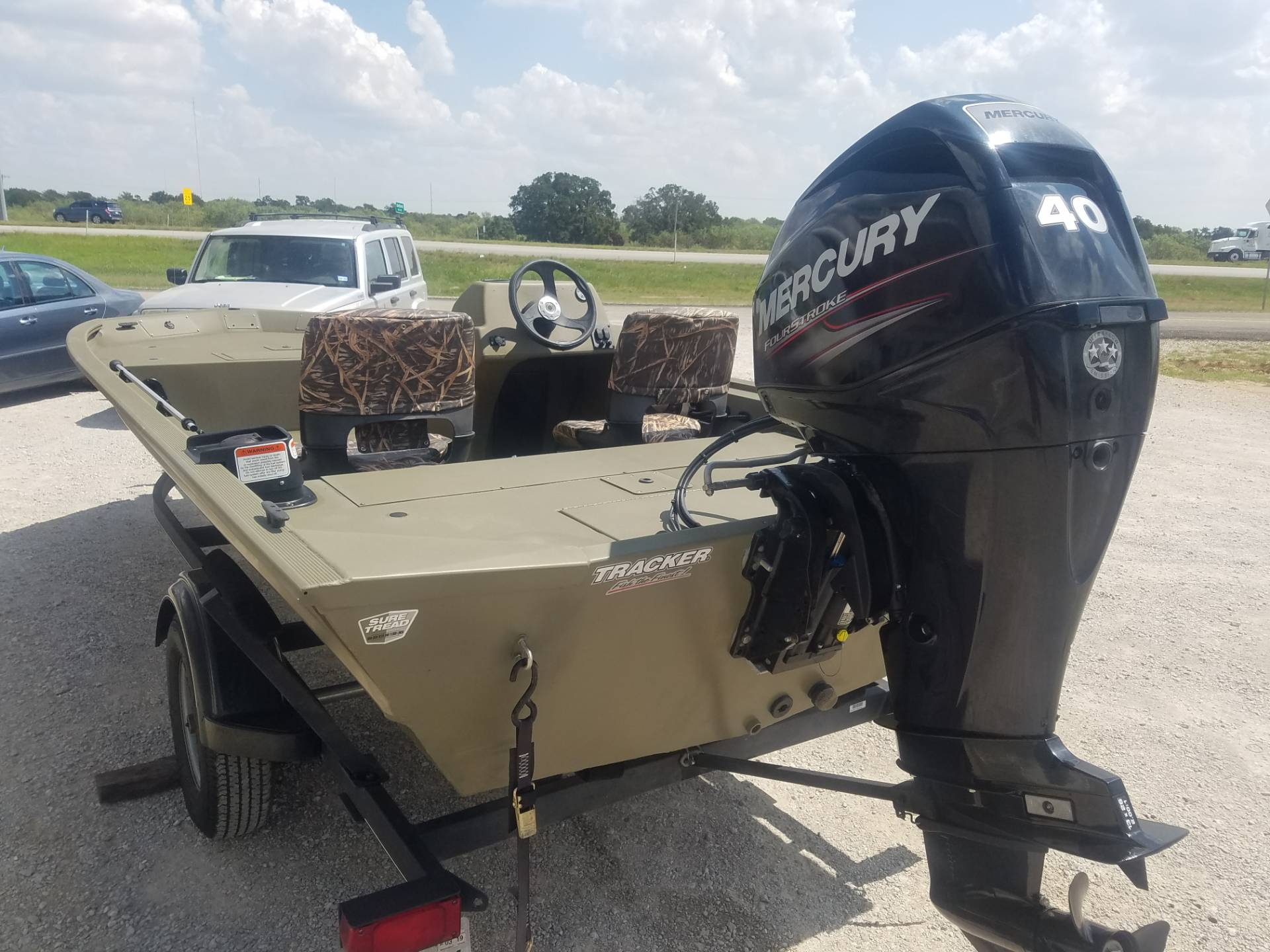 2018 Tracker Grizzly 1754 SC in Eastland, Texas - Photo 4