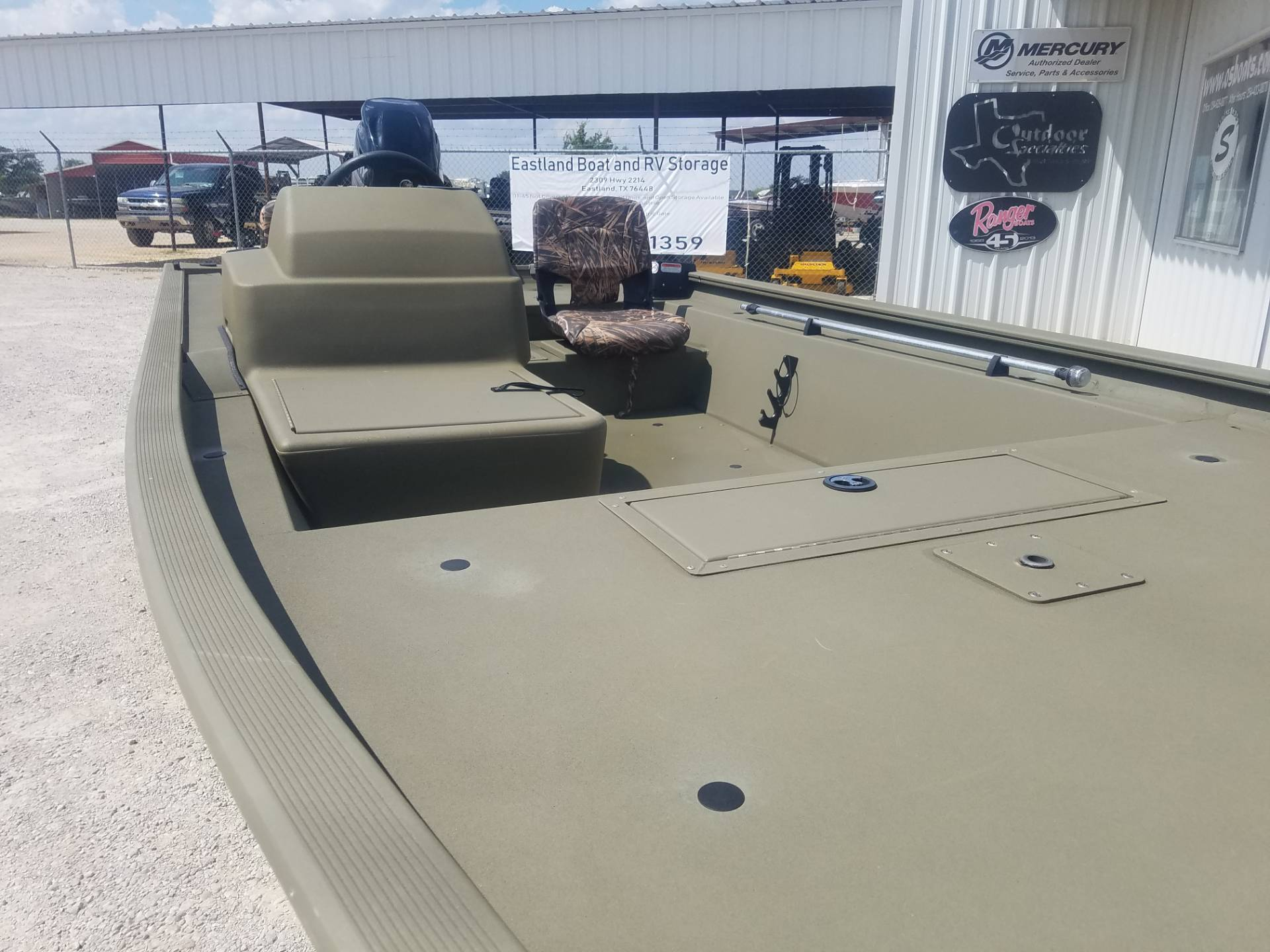 2018 Tracker Grizzly 1754 SC in Eastland, Texas - Photo 8
