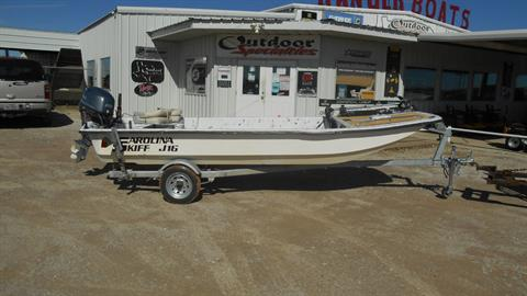 2004 Carolina Skiff j16 in Eastland, Texas
