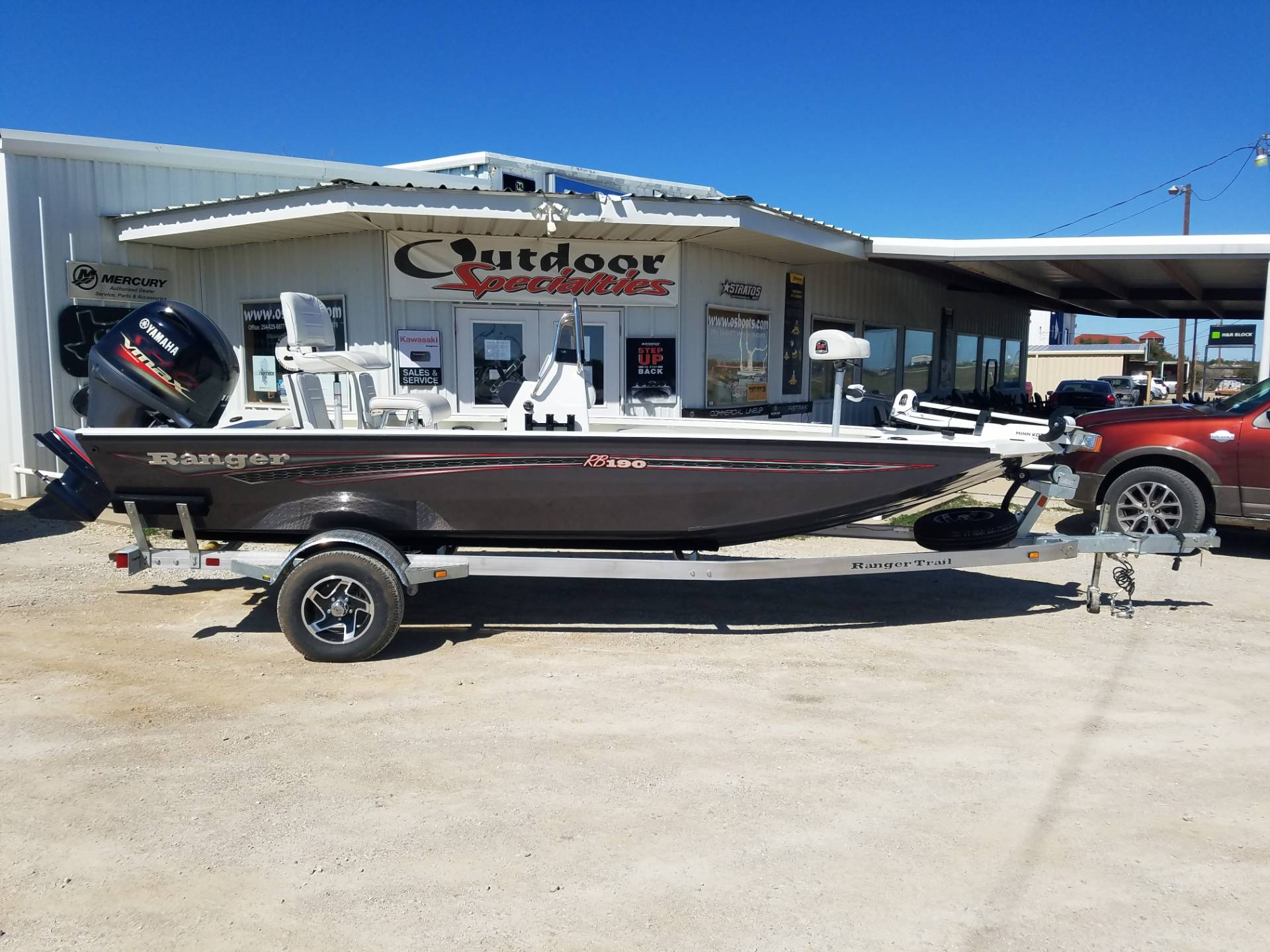 2020 Ranger RB 190 Fisherman w/o set-back in Eastland, Texas - Photo 1