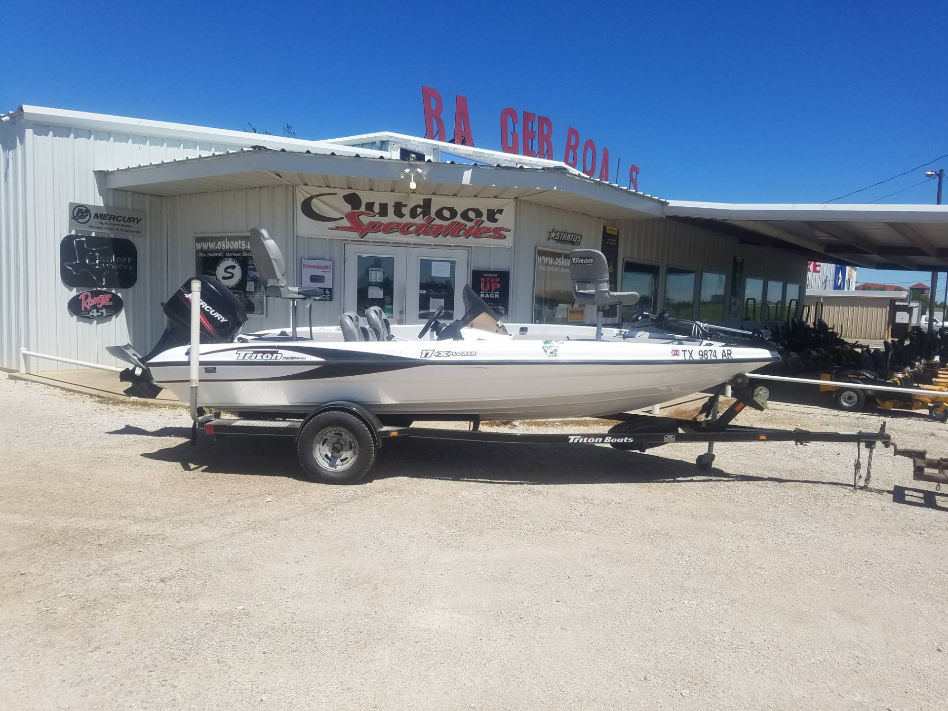 2008 Triton 17 Explorer in Eastland, Texas - Photo 1