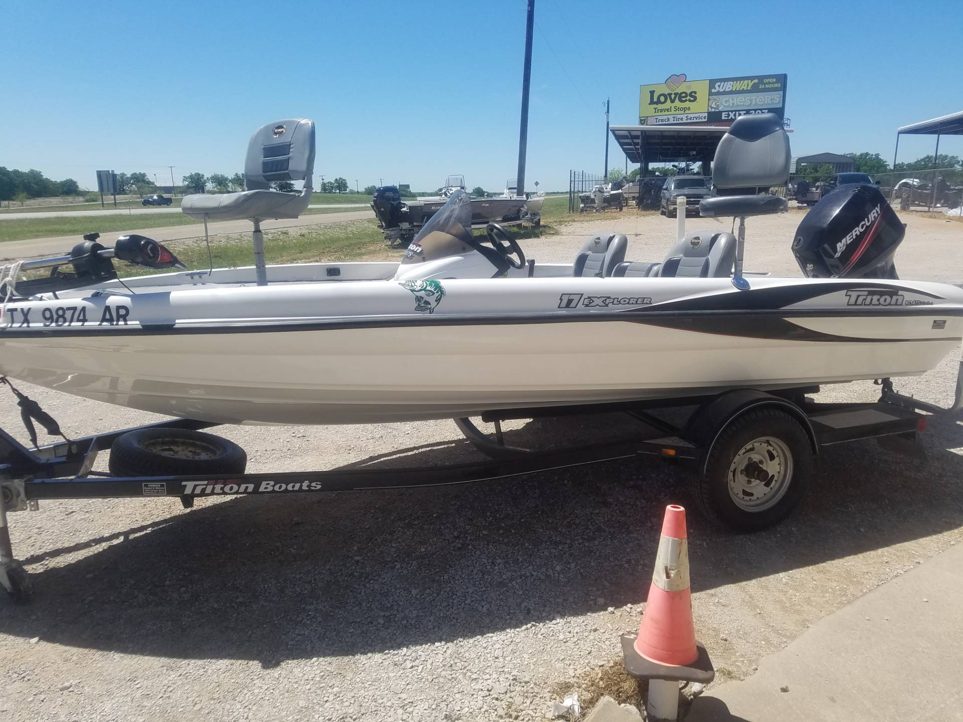 2008 Triton 17 Explorer in Eastland, Texas - Photo 4