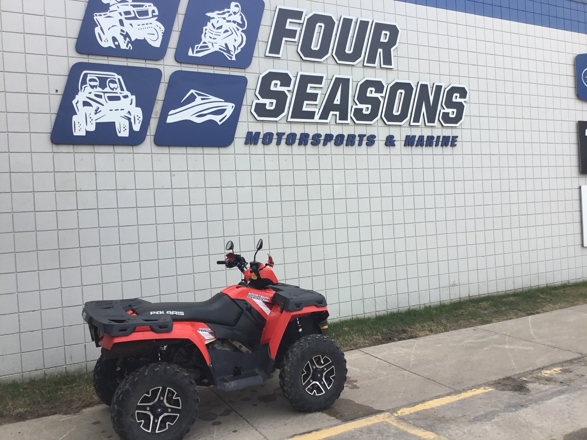 2013 Polaris Sportsman® 500 H.O. in Rapid City, South Dakota - Photo 1