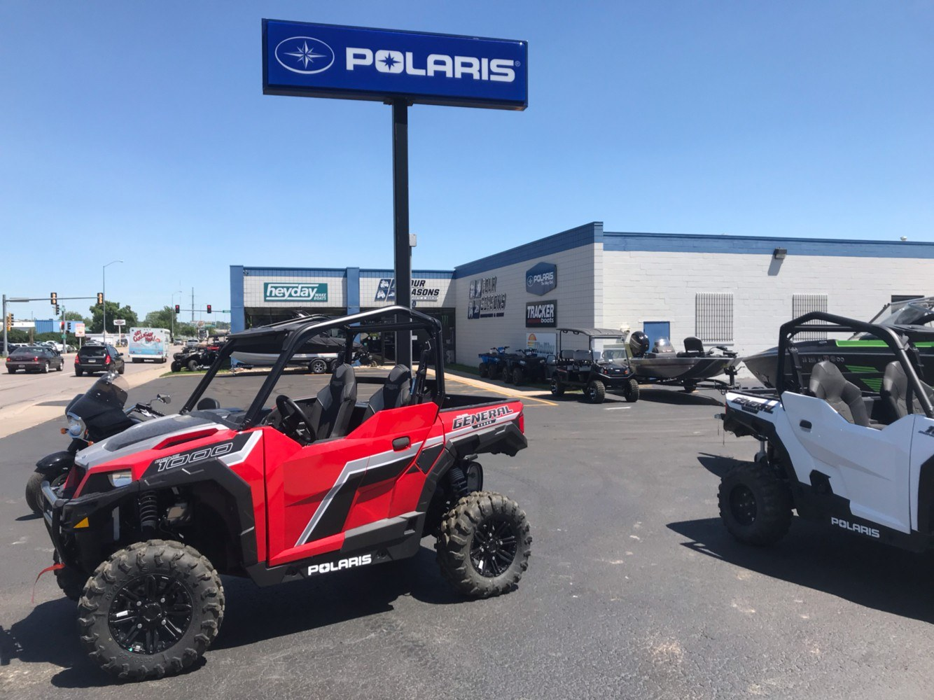 2019 Polaris General 1000 EPS Premium in Rapid City, South Dakota - Photo 1