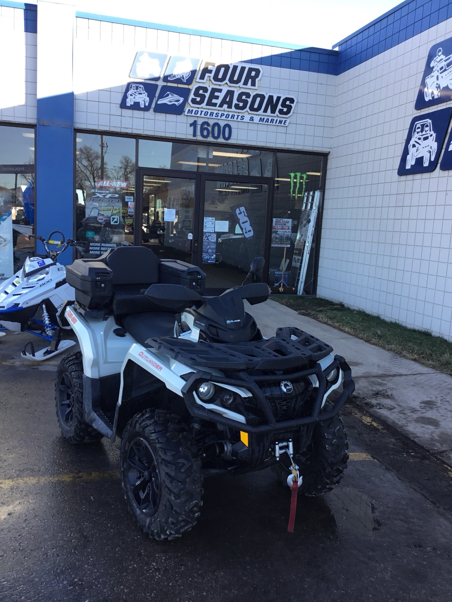 2017 Can-Am Outlander XT 850 in Rapid City, South Dakota - Photo 2