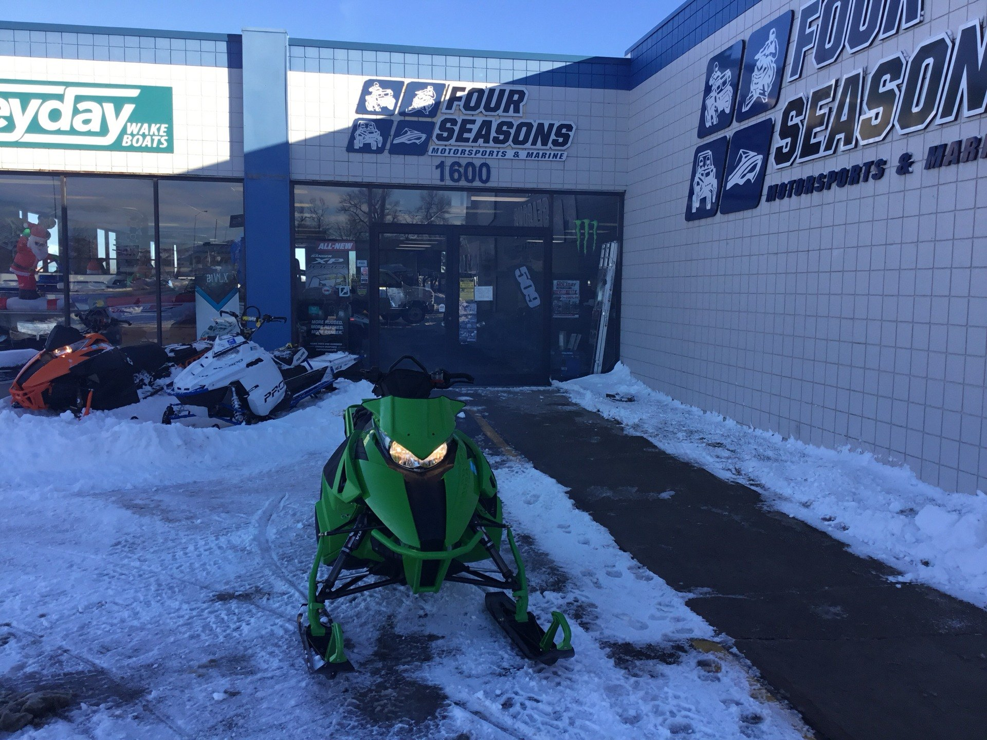 "2016 Arctic Cat M 8000 153"" Sno Pro in Rapid City, South Dakota"