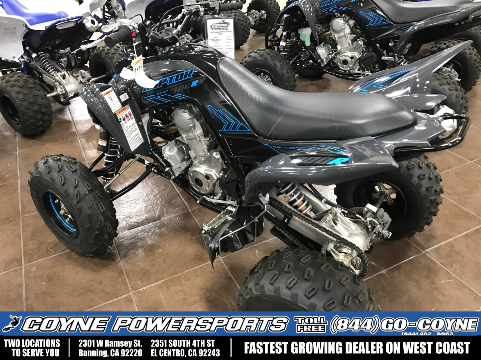 2017 Yamaha Raptor 700R SE for sale 7391