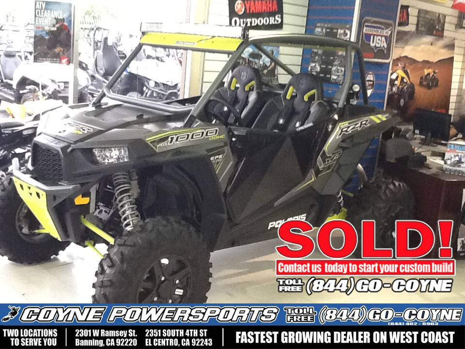 2016 Polaris RZR XP 1000 EPS in Banning, California