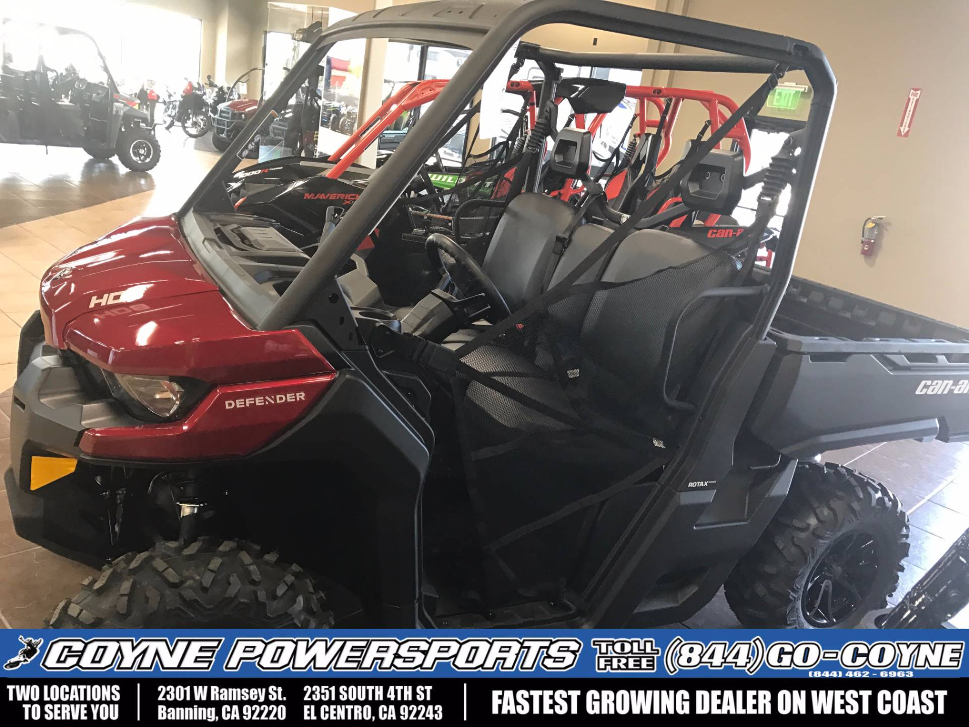 2017 Can-Am Defender DPS HD8 in Banning, California