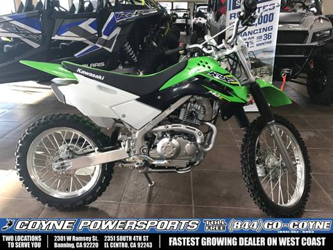 2017 Kawasaki KLX140L in Banning, California