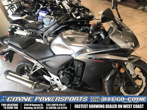 2015 Honda CBR®500R in Banning, California