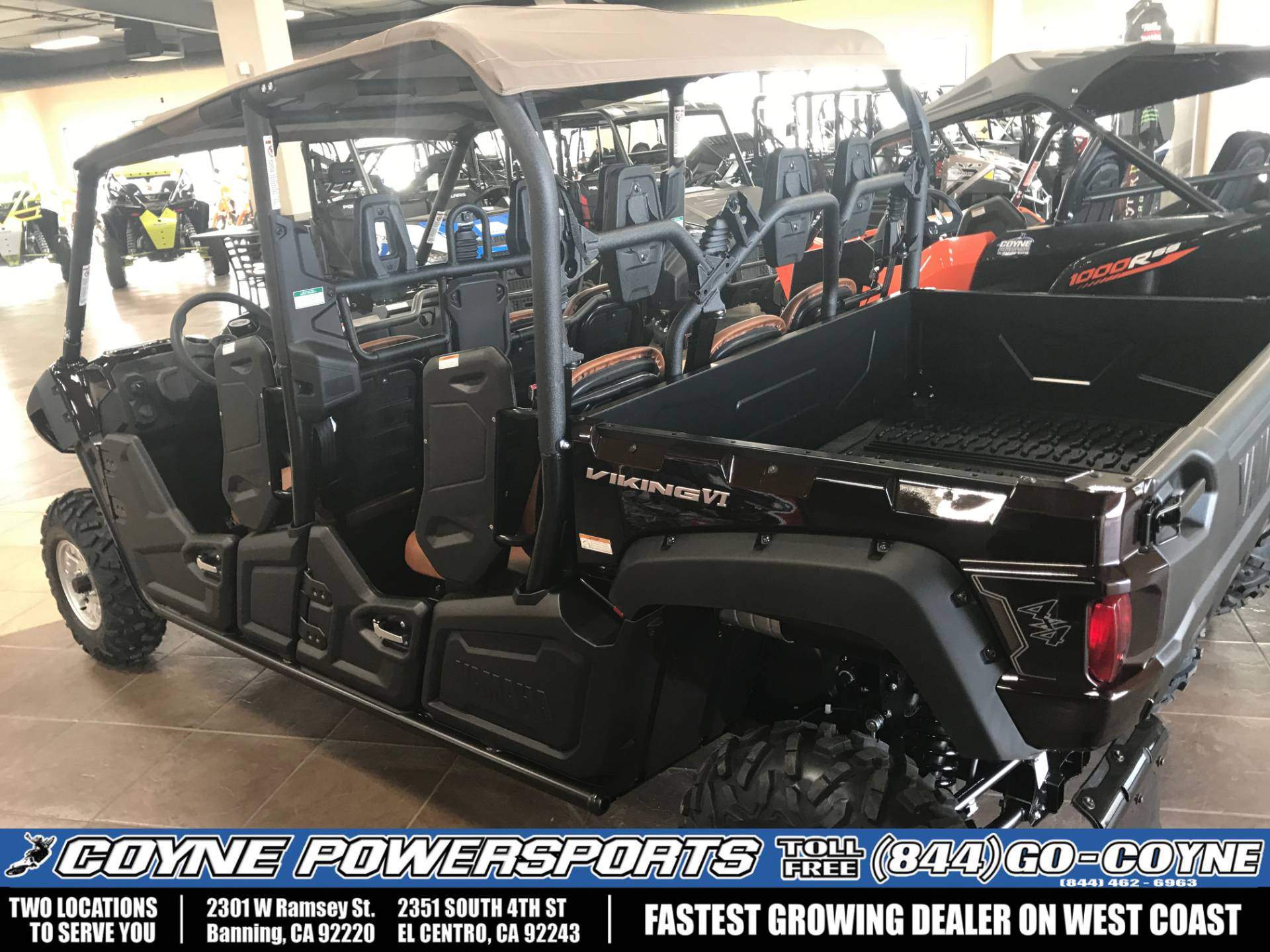 2017 Yamaha Viking VI EPS Ranch Edition in Banning, California