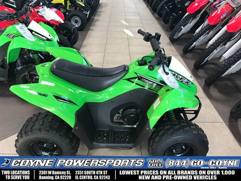 2015 Kawasaki KFX®90 in Banning, California
