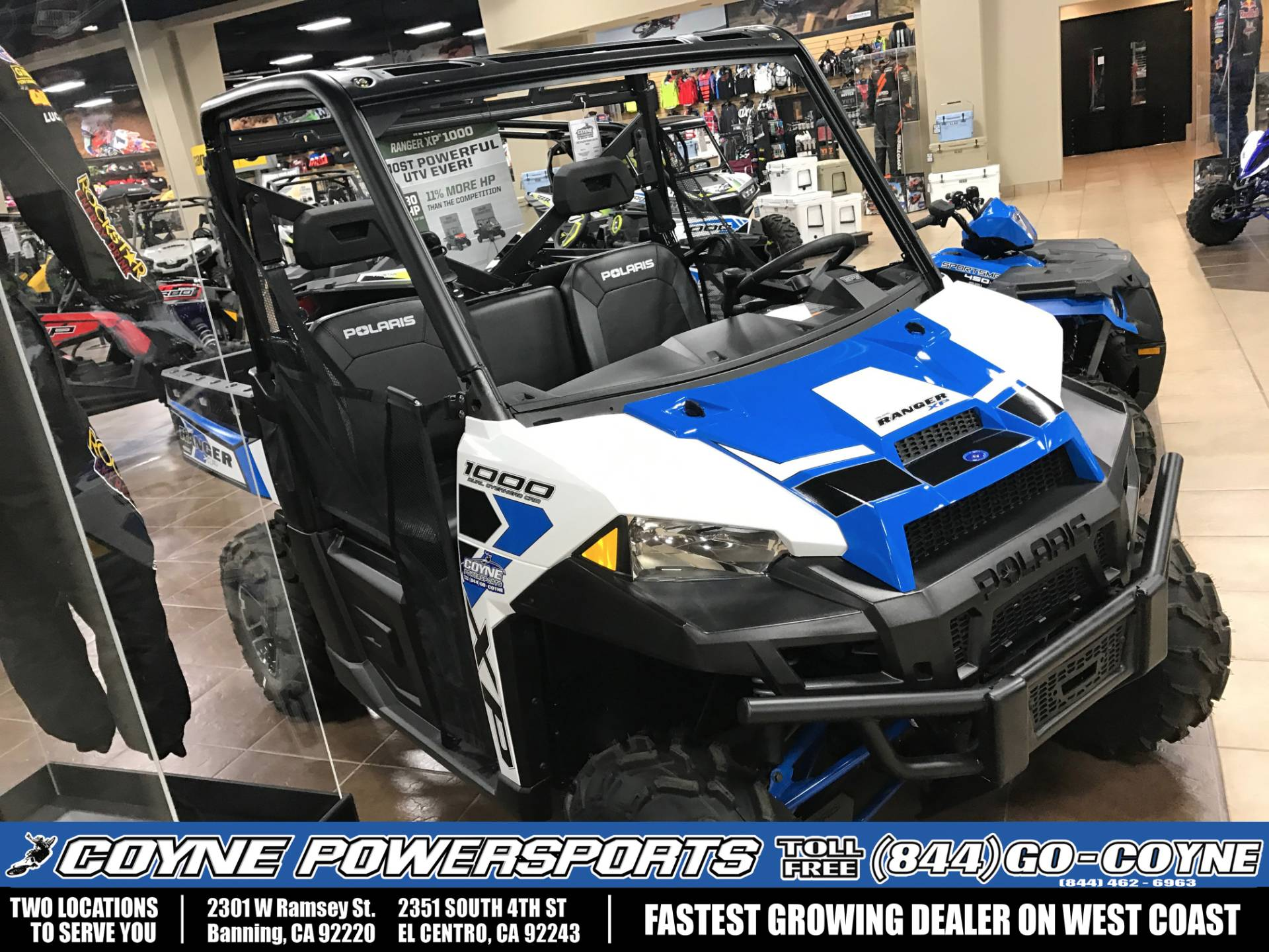 2017 Polaris Ranger XP 1000 EPS for sale 379
