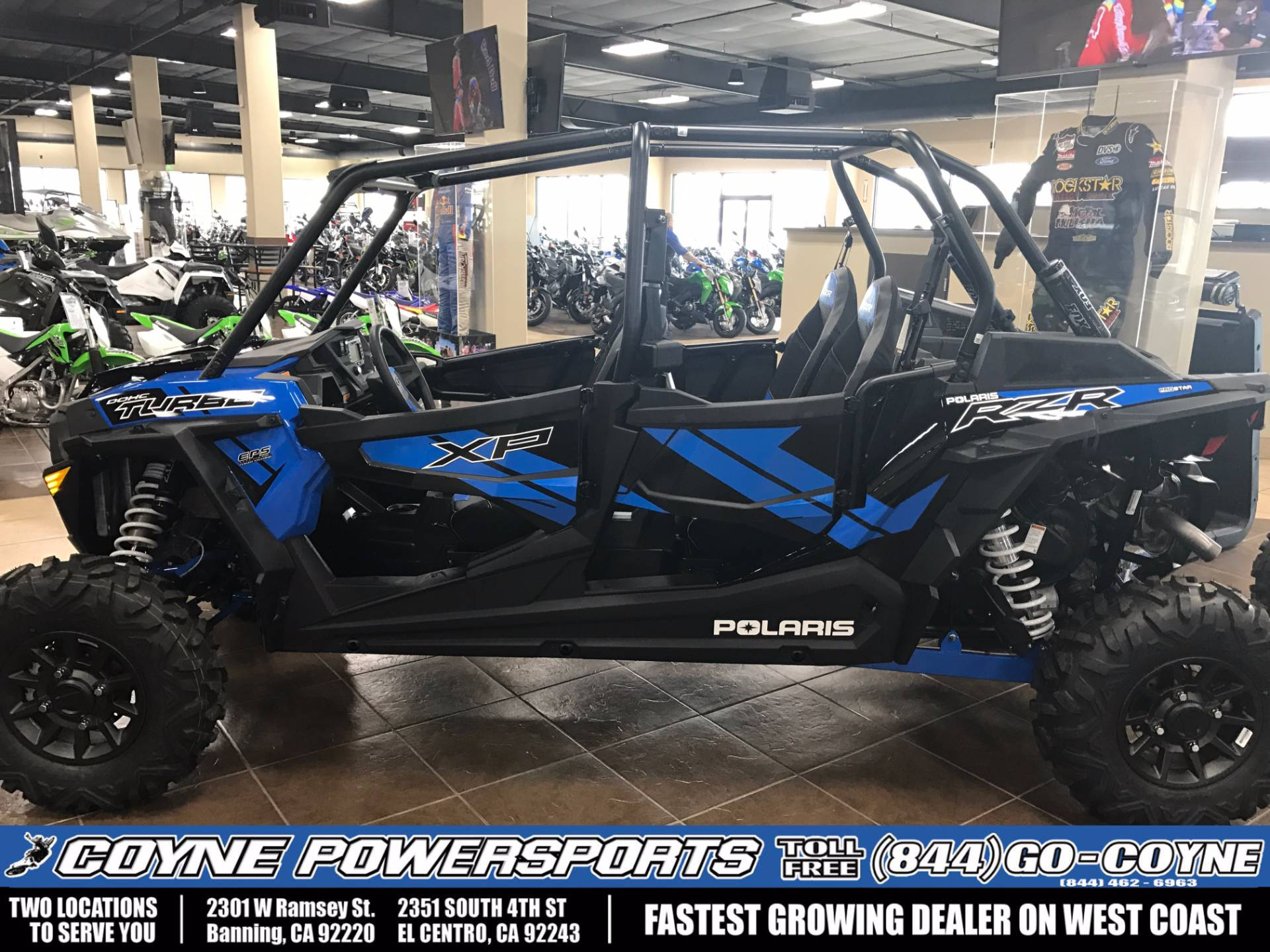 2017 Polaris RZR XP 4 Turbo EPS for sale 233