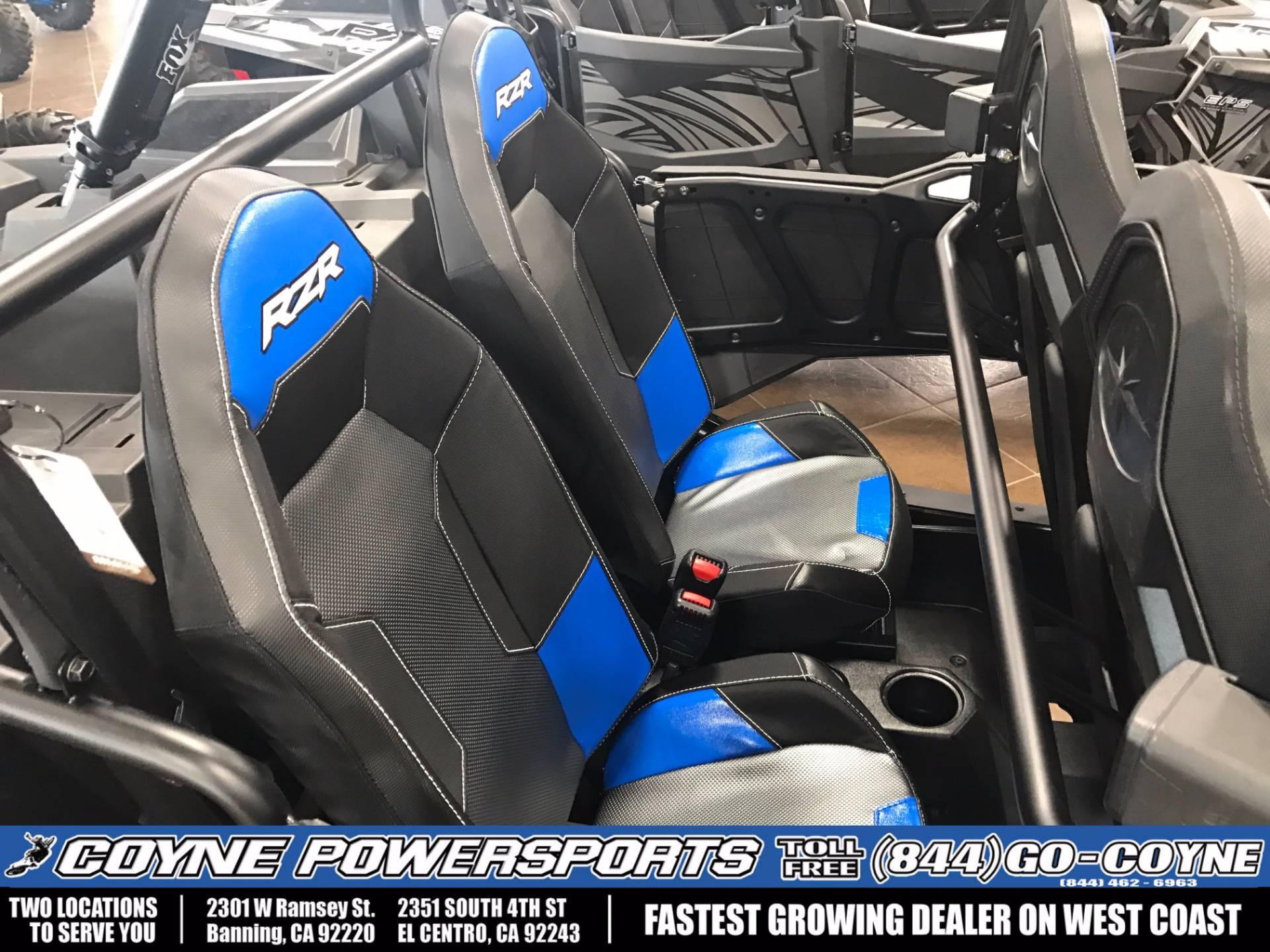 2017 Polaris RZR XP 4 Turbo EPS 4