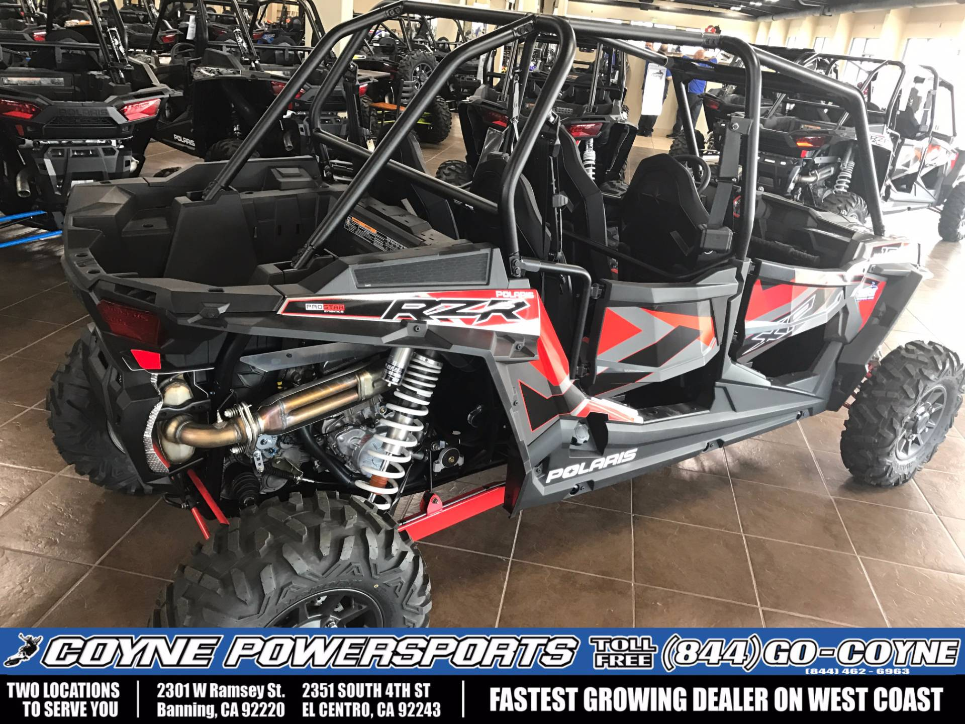 2017 Polaris RZR XP 4 1000 EPS for sale 618