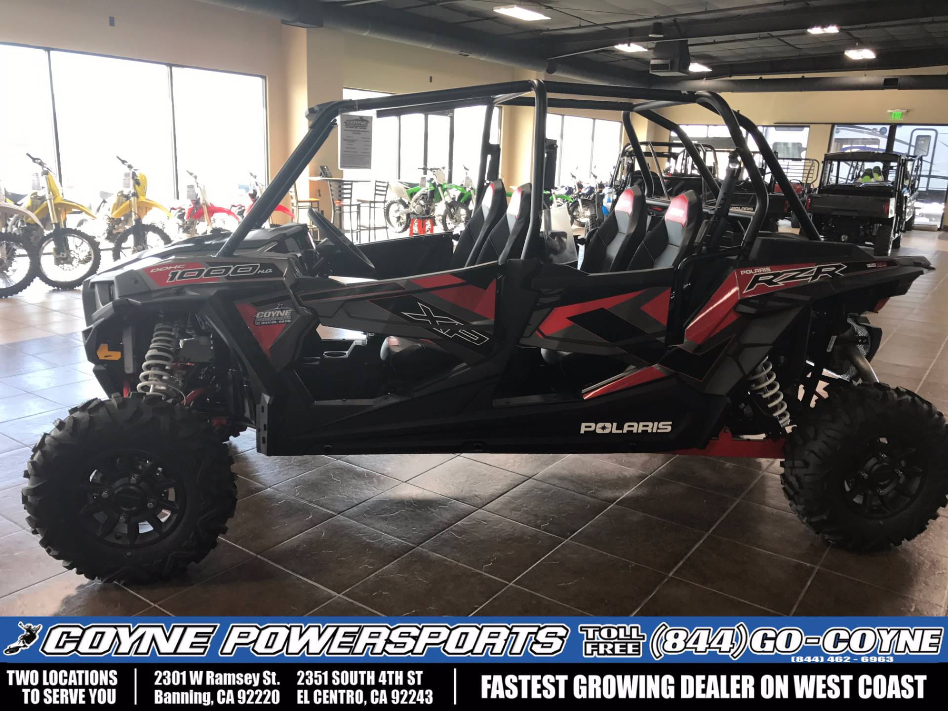 2017 Polaris RZR XP 4 1000 EPS for sale 410