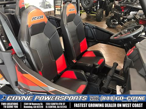 2017 Polaris RZR XP 4 1000 EPS in Banning, California