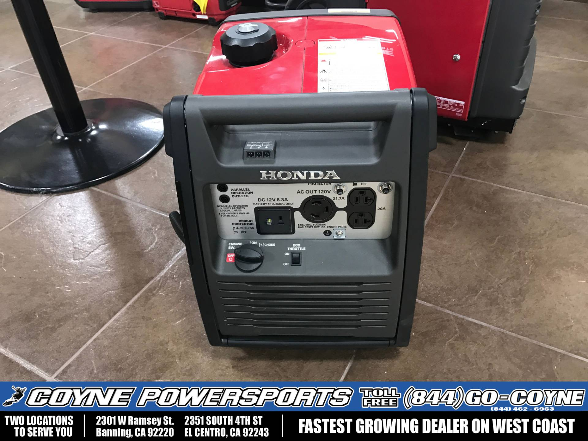 2016 Honda Power Equipment EU3000i Handi in Banning, California