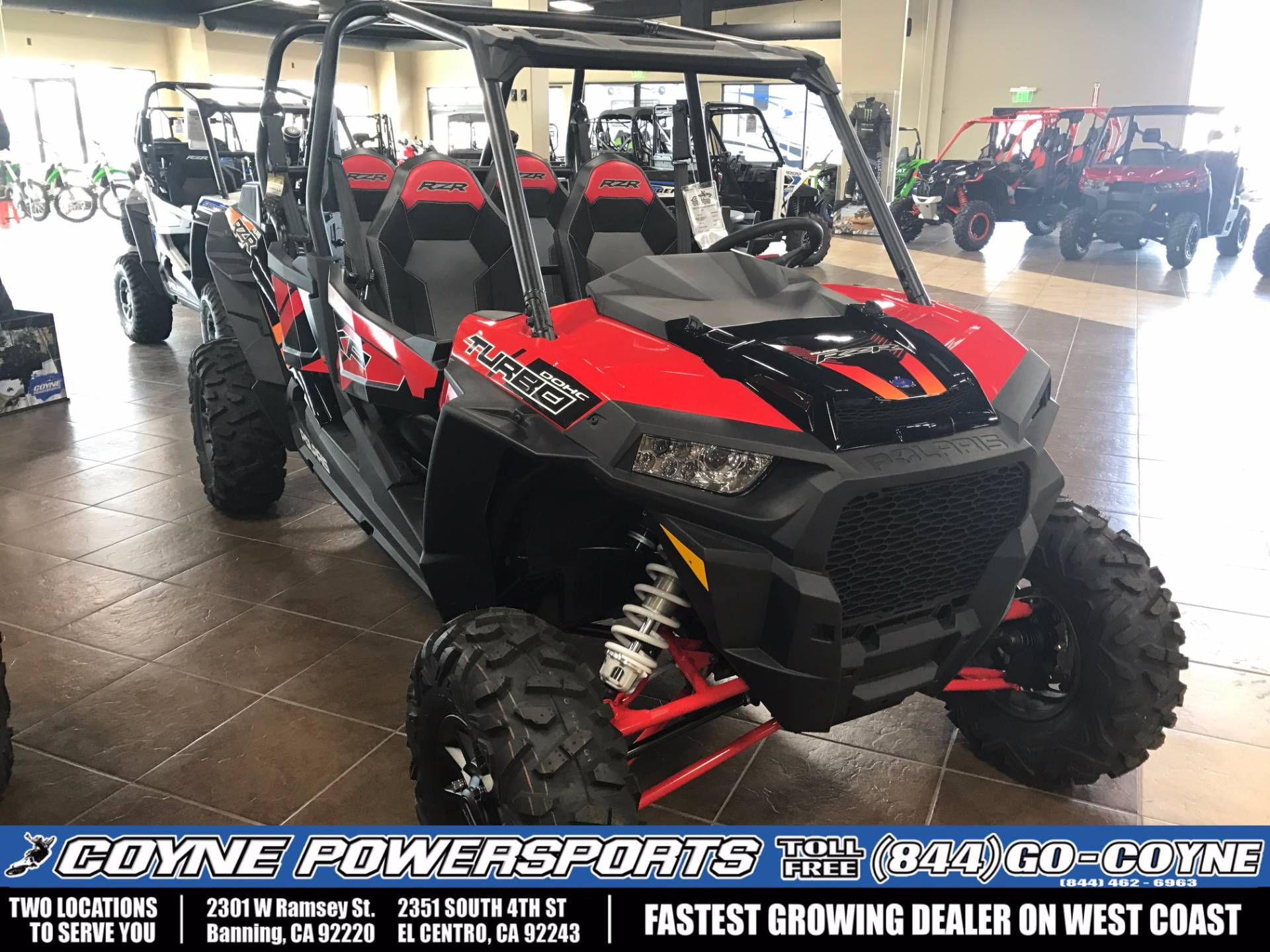 2017 Polaris RZR XP 4 Turbo EPS for sale 308